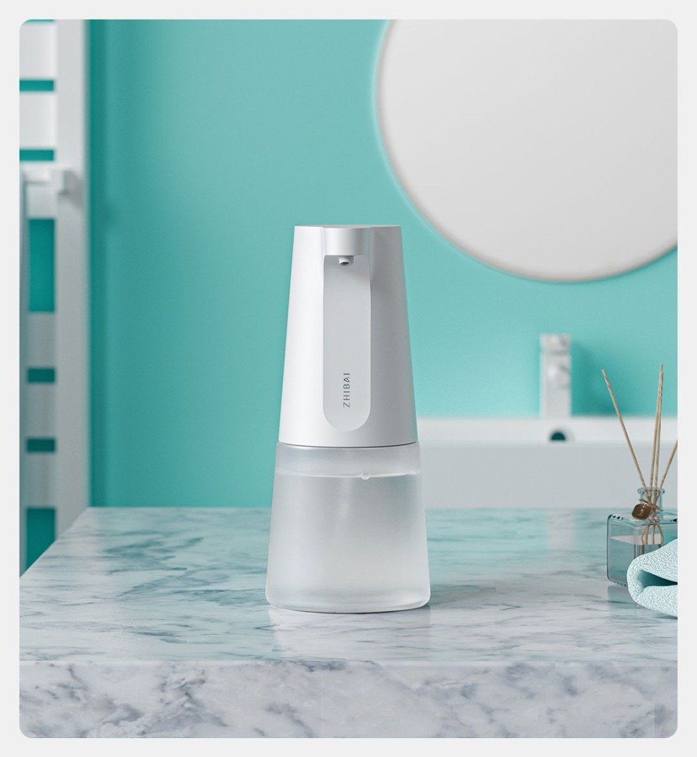 Mijia Zhibai Automatic Induction Foaming Hand Washer Rechargeable Wash Automatic Soap Dispenser For Smart Homes