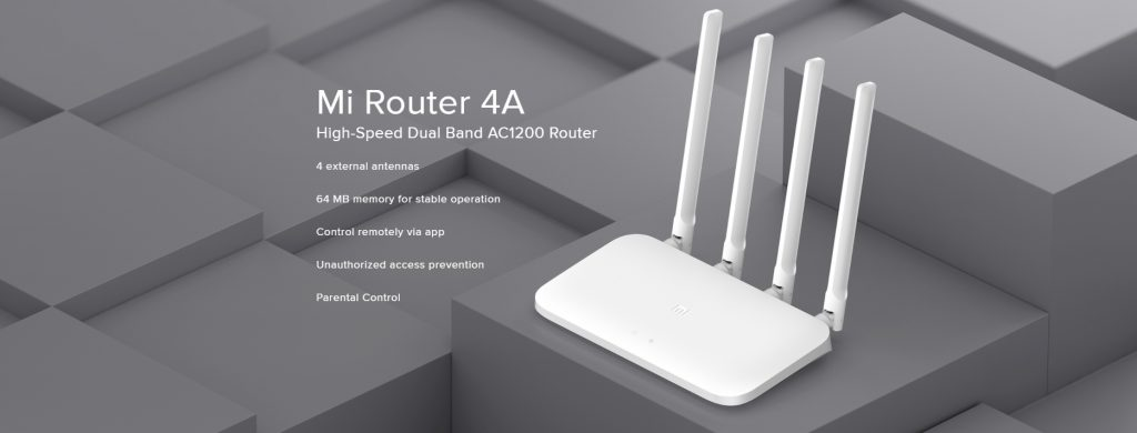 Router 4A Giga Global White