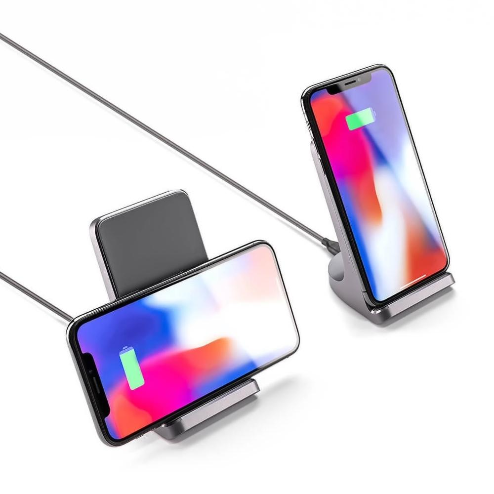 AKAVO AFS01 S1 Vertical Wireless Charger Grey CN