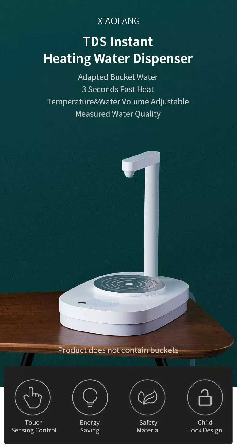 Mi Xiaolang TDS Instant Heating Water Pump