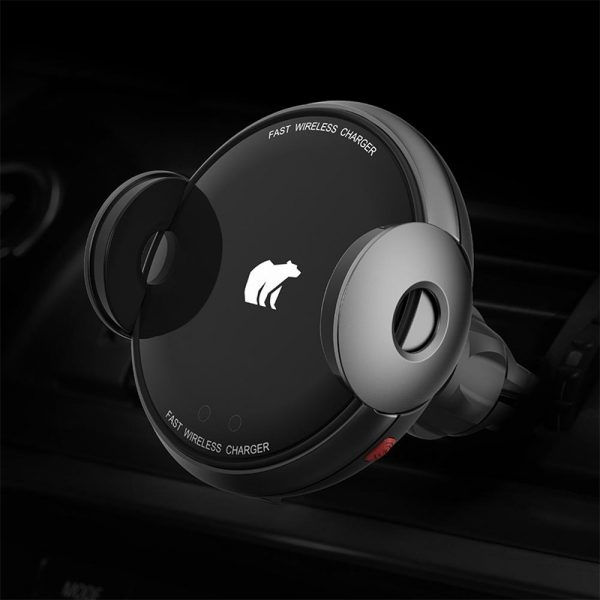 Shunzao Electric Wireless Quick Car Charger Black Global